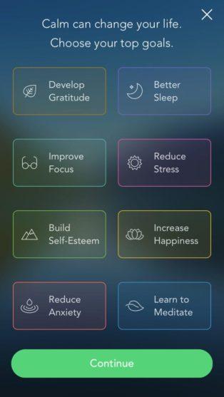 Three Apps for a Lockdown Wellness Boost - Calm app