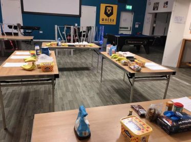 Some colleges offer baking and cooking workshops
