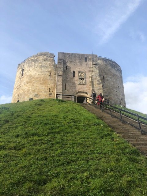 Staying social - Clifford's Tower