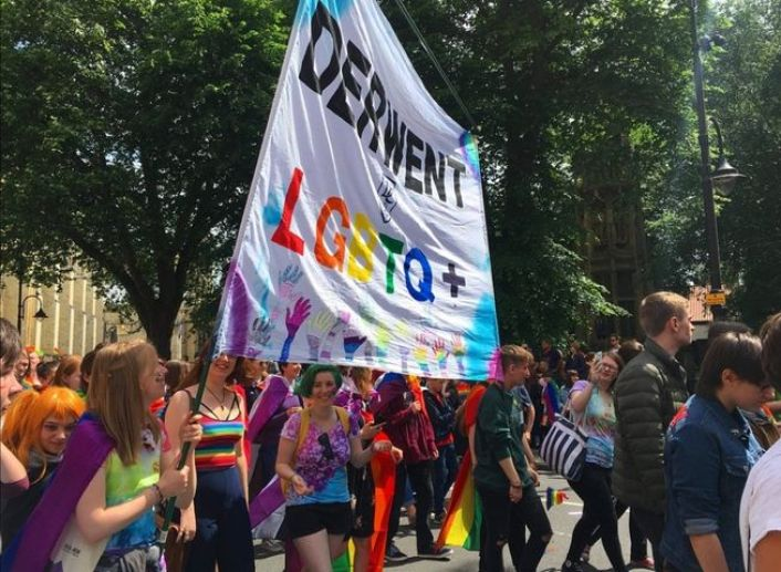 A Queer student guide to York - Pride celebrations in York in 2019.