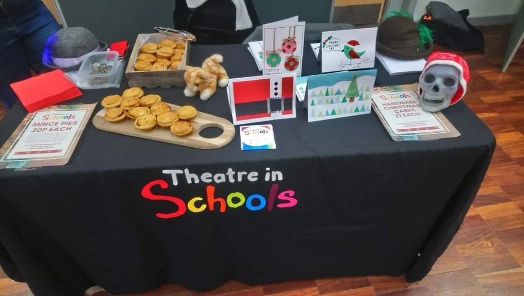 Theatre in Schools YUSU Christmas Market Stall