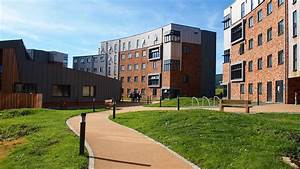 An accommodation building in Langwith College at the University of York