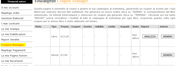 Coupon Manager