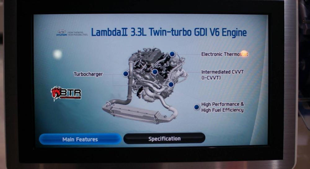 medium resolution of hyundai is working on twin turbo 3 3l v6 engine youwheel com hyundai 3500 v6 engine diagram