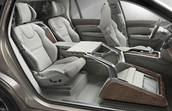 swivel reclining chairs uk elvis folding chair 3-seat volvo xc90 version debuted - youwheel.com your ultimate and professional car resources