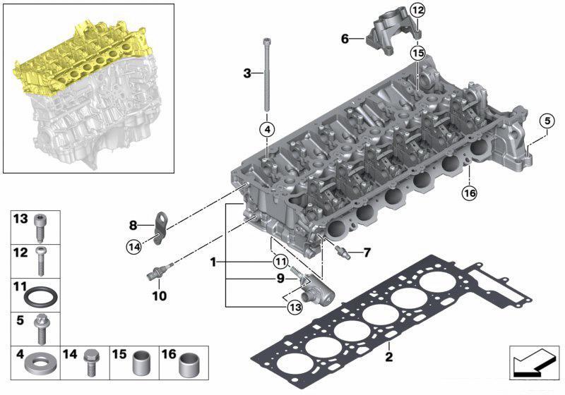 Brief Analysis: the All-New BMW B58 6-Cylinder Engine