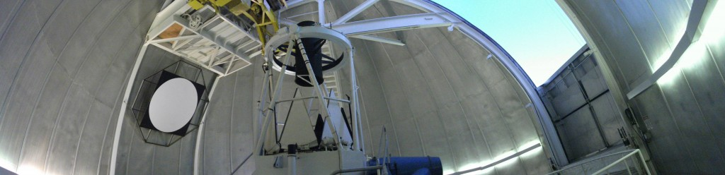 Panorama of the 2.1 meter dome
