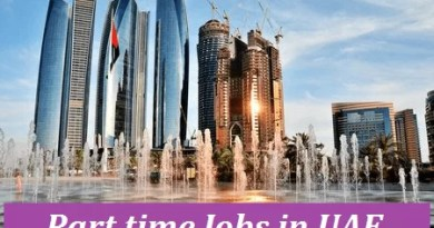 7 Most Popular Part Time Jobs In UAE