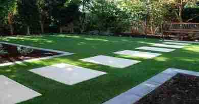 Artificial-grass-garden