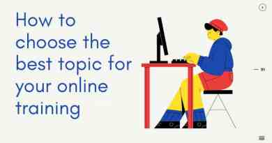 online training ideas