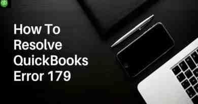 QuickBooks errors 179