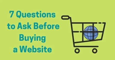 7 Questions to Ask Before Buying a Website