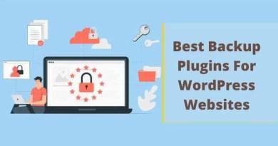 Best Backup Plugins For WordPress Websites