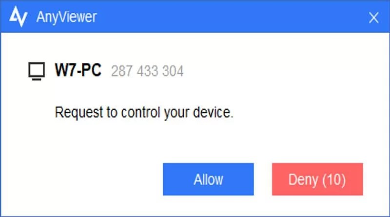 AnyViewer: Remotely Control another Computer for Instant Help