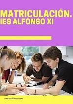 Matriculación IES ALFONSO XI.