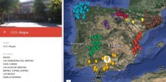 Mapa de centros