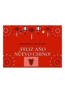 Concurso de tarjetas de felicitación del Año Nuevo Chino