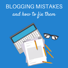 Mistakes that most blogging beginners make