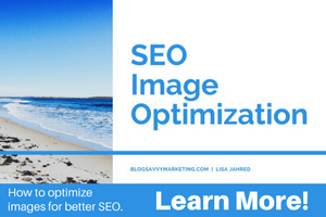 SEO Image Optimization training