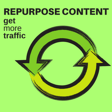 how to recycle blog content