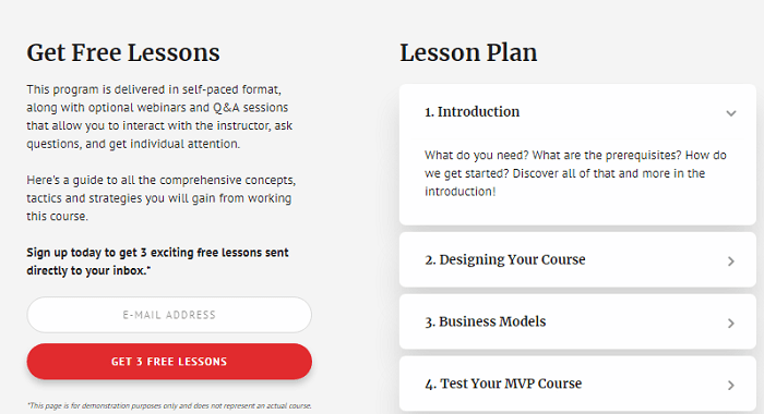 Academy Pro theme lessons