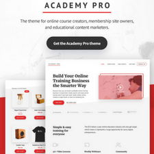 Academy Pro Theme review