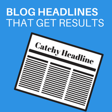 How to write blog headlines that get results