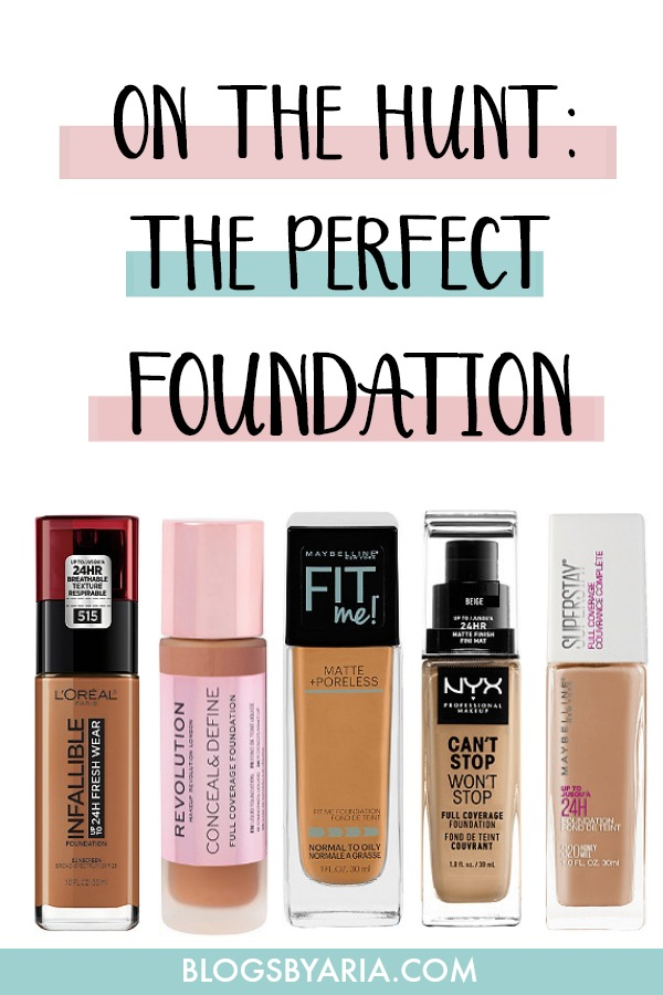 On the Hunt for The Perfect Foundation
