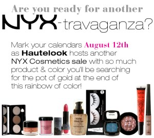 NYX on HauteLook