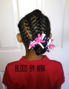 Brianna's Hair Series ~ Back to School Styling