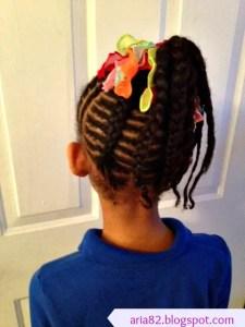 Brianna's Hair Series ~ Fishbone Side Pony
