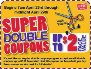 Harris Teeter Super Doubles 4/24/14