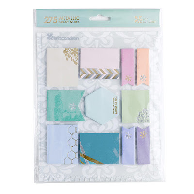 Erin Condren Life Planner Wishlist snap-in stylized sticky notes