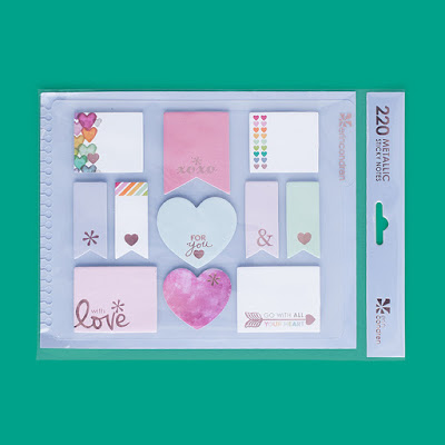 Erin Condren Life Planner Wishlist stylized sticky notes