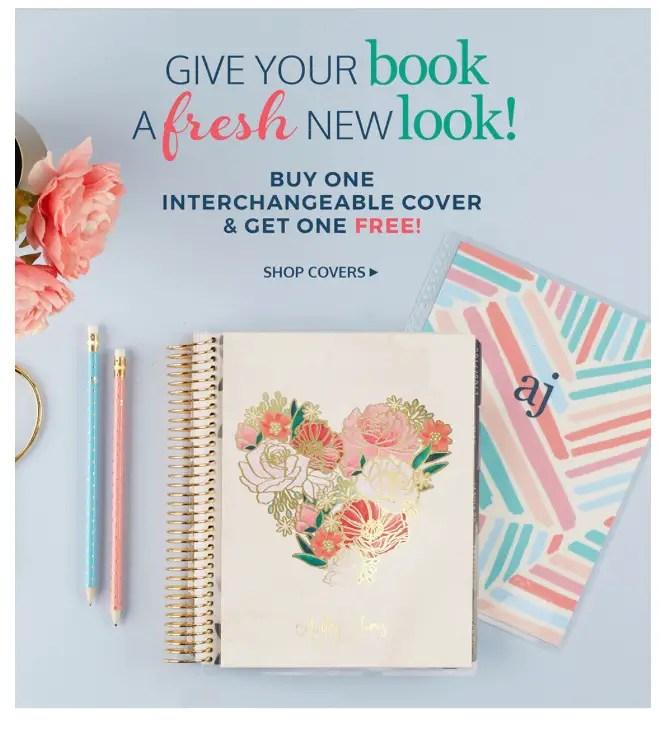 Erin Condren Life Planner covers