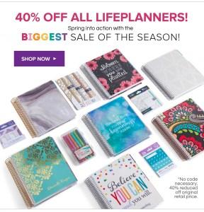 Erin Condren Life Planners on Sale!!!