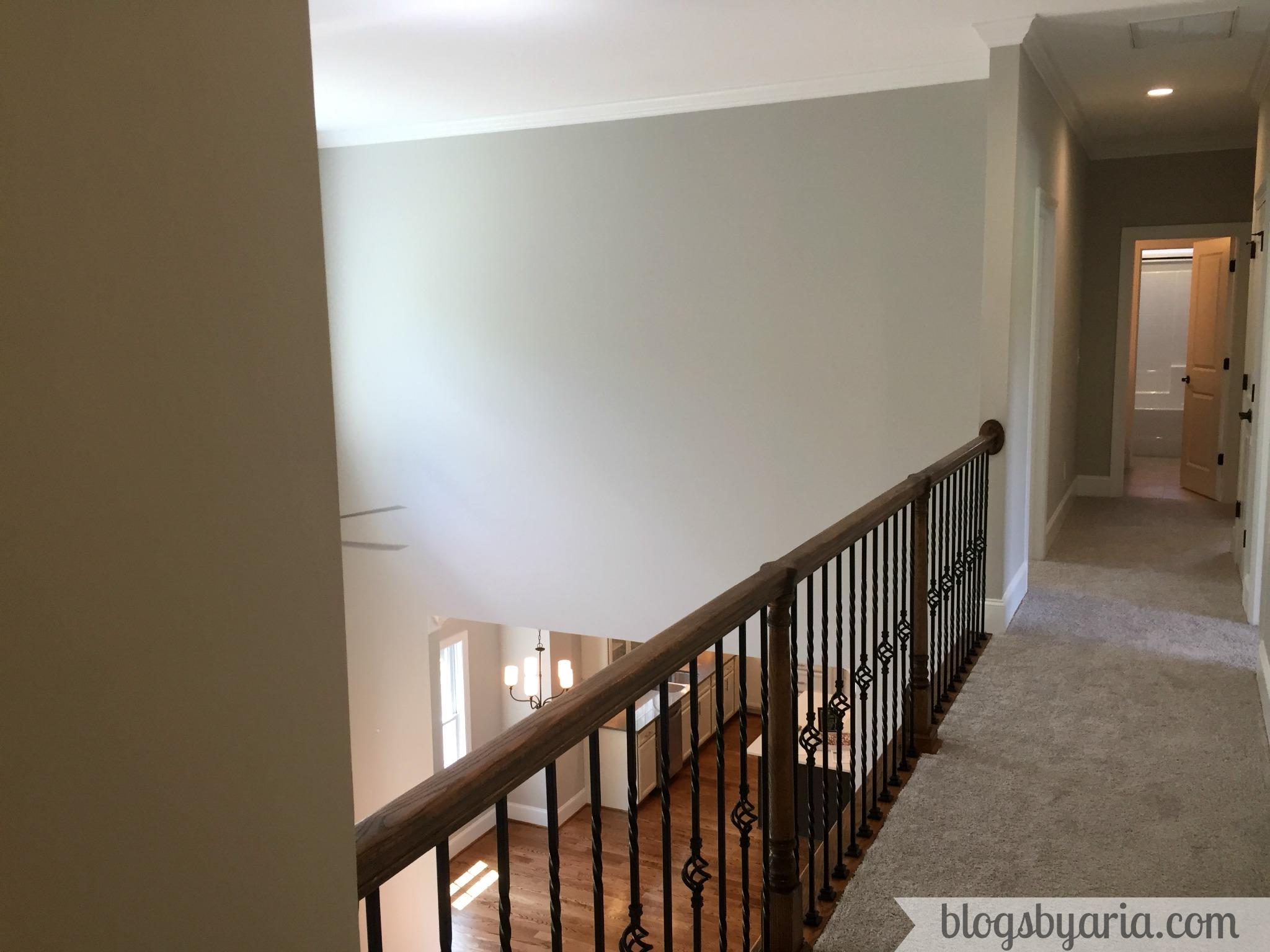 catwalk upstairs hallway
