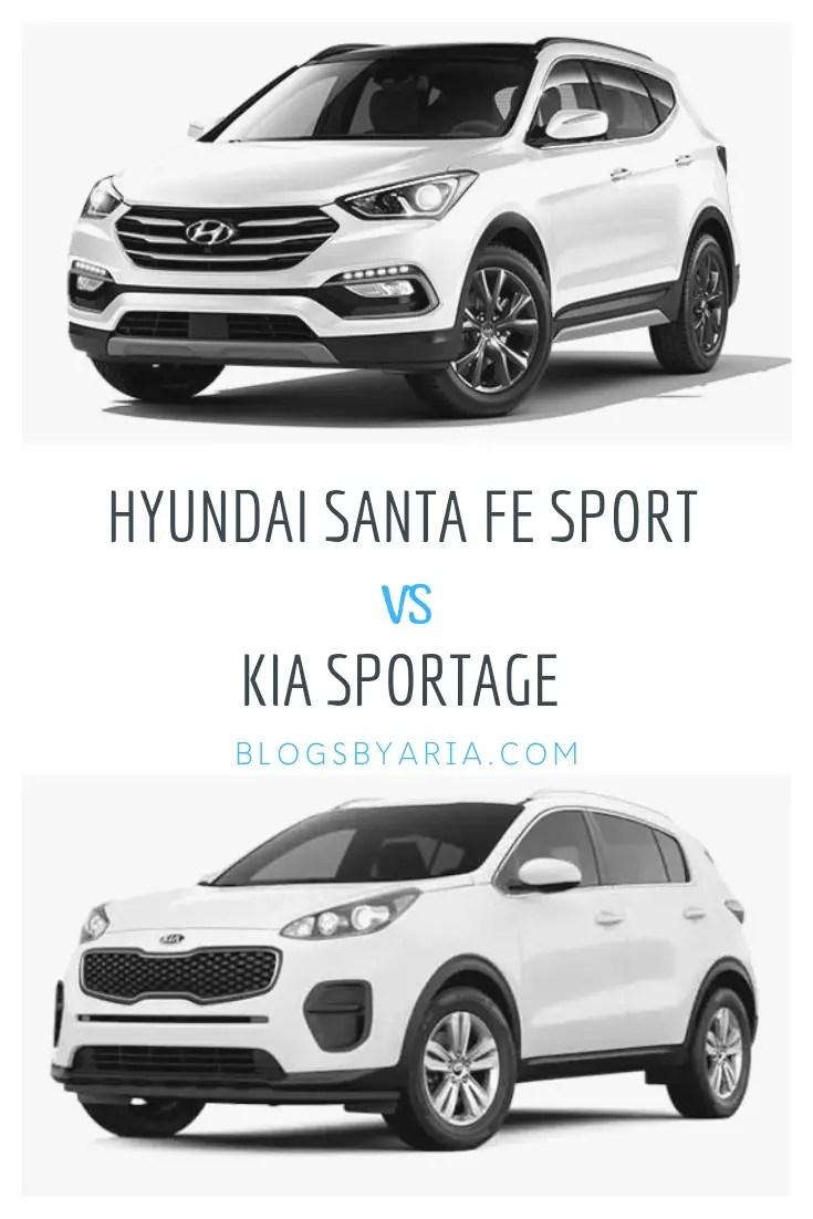Hyundai Santa Fe Sport vs Kia Sportage