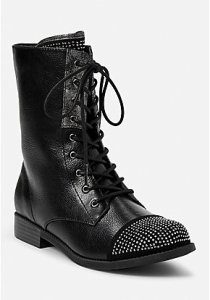Justice Rhinestone Stud Boots