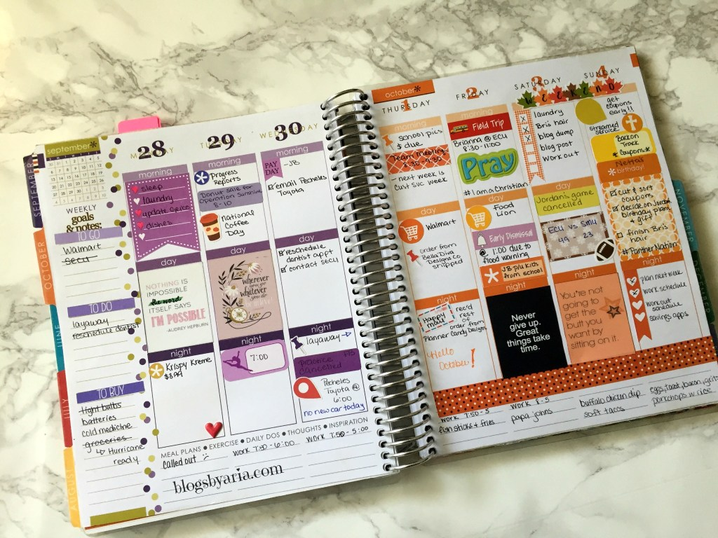 planner stickers for Erin Condren Life Planner