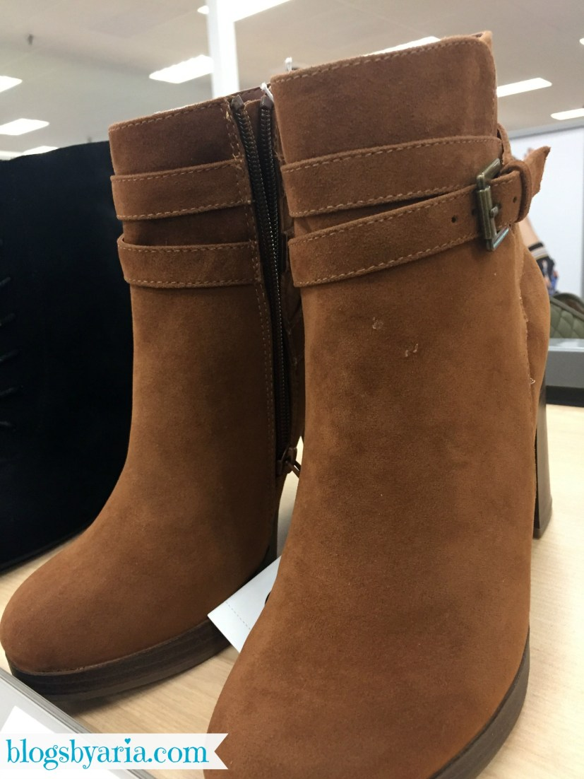 Booties for Fall at Target