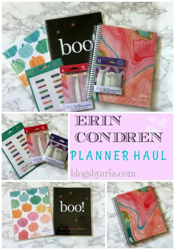 Erin Condren Planner Haul