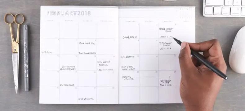 Erin Condren monthly planner