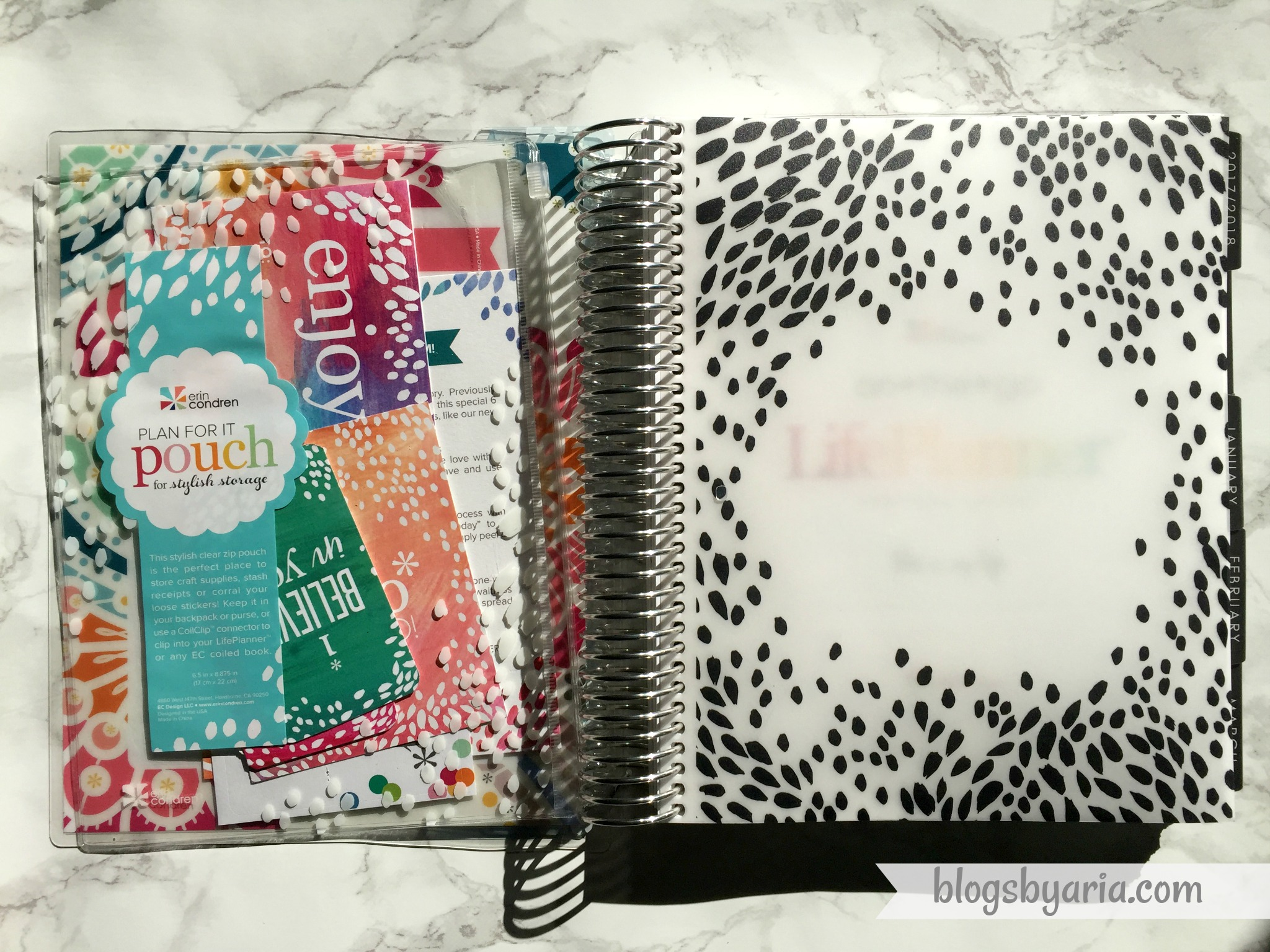 2018 Vertical Neutral Erin Condren Life Planner