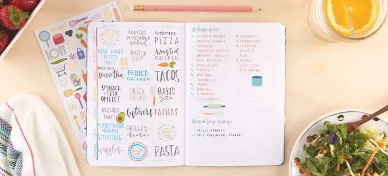 Erin Condren Petite Planner Meal Planner