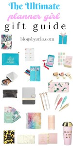 The Ultimate Planner Girl Gift Guide