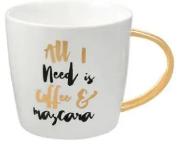 All I Need is Coffee & Mascara Mug