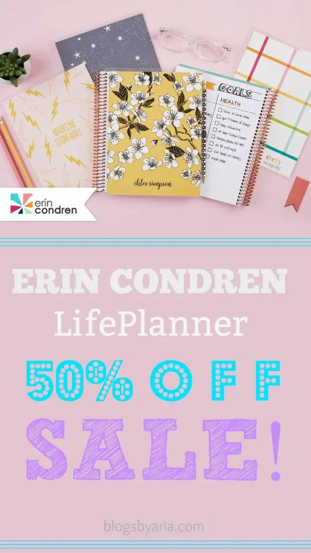 Erin Condren Sale
