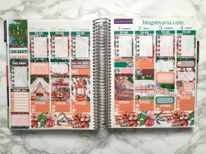 Mock Planner Spreads