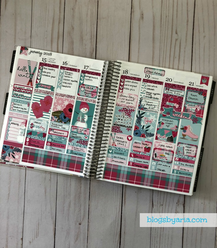 7 Incredible Planner Spreads decorative planning